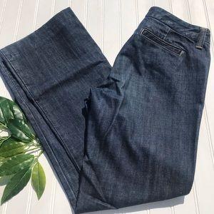 J Crew Wide Leg Trouser Jeans